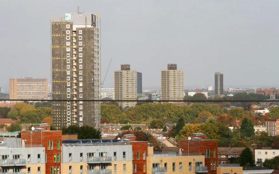 Tower Blocks in London