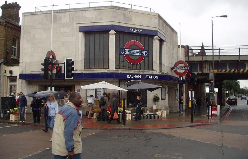 Balham Tube Station exterior