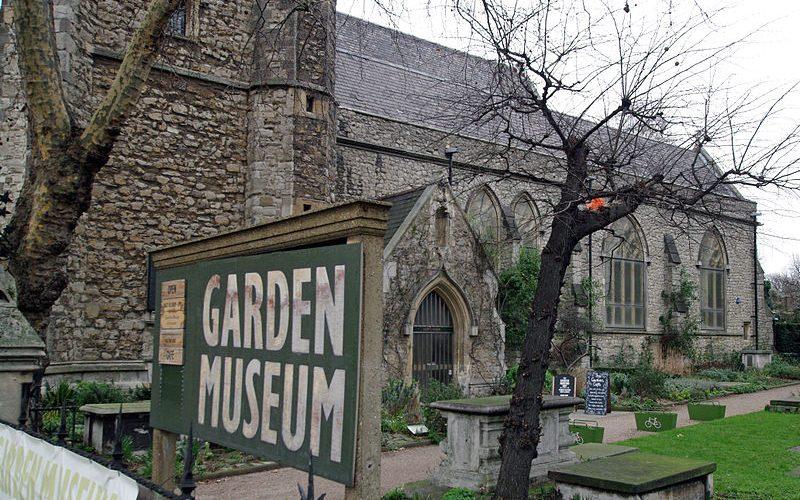 Front of Garden Museum Lambeth