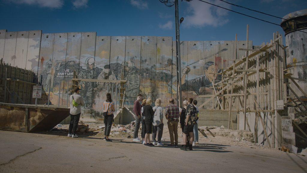 Hatari on an Israeli street