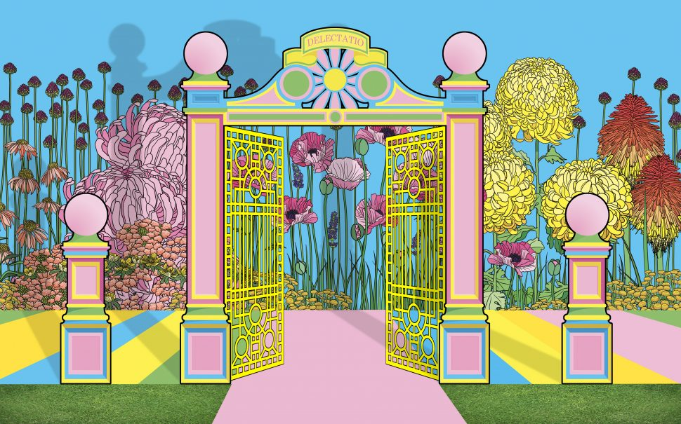 The Pleasure Garden on Warwick Road by Baker & Borowski