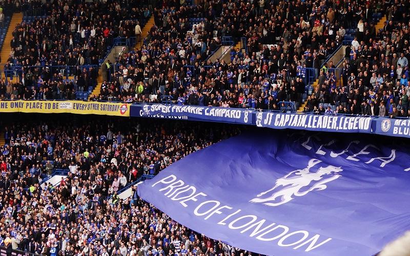 Crowd at Stamford Bridge