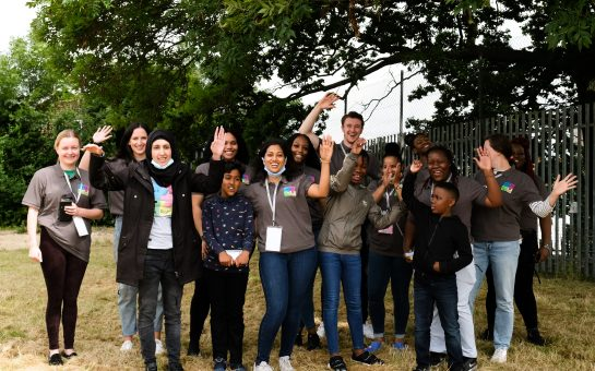 The Start It Right team with young people