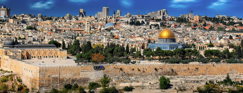 The Old City in Jerusalem featuring the Dome of the Rock. Photo Credit: Pixabay