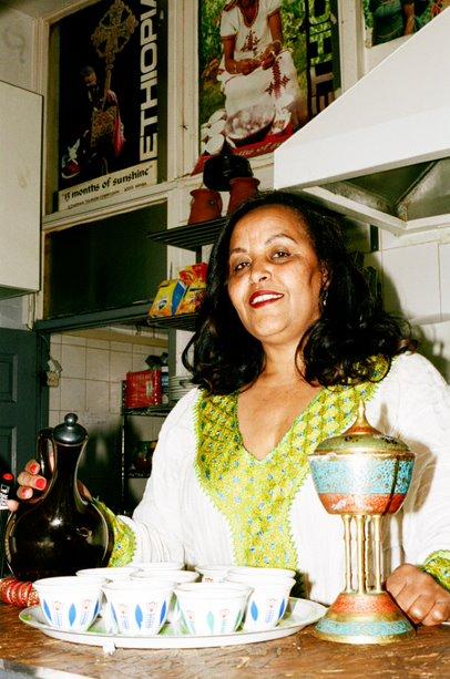 Tafeswork Belayneh in Zeret Kitchen