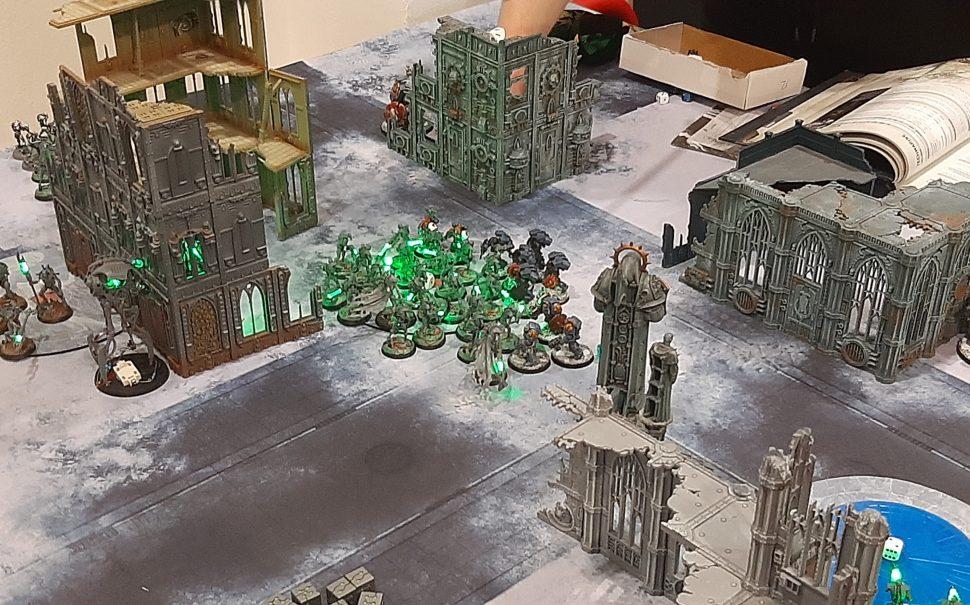 Necron miniatures, London Wargamming Guild