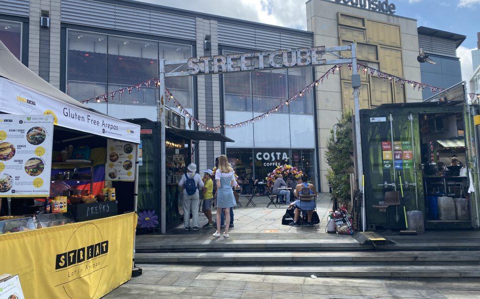 Popular food stalls in Wandsworth