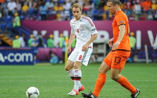 Christian Eriksen at Euros 2012