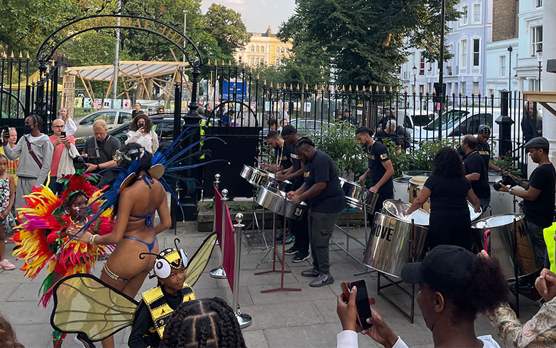 Notting Hill Carnival launch at the Tabernacle