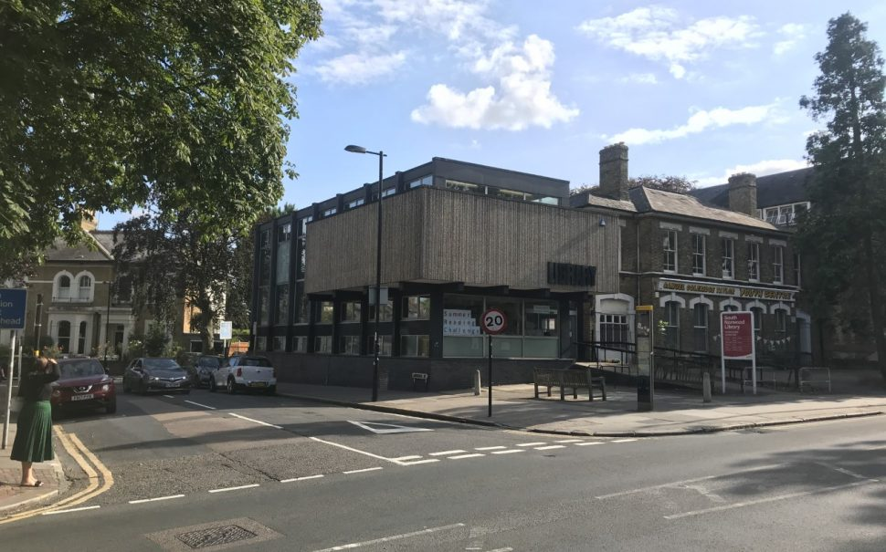 South Norwood Library in Croydon.
