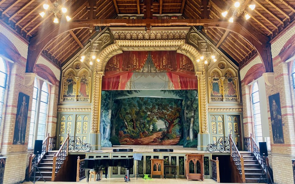 Normansfield Theatre in Teddington has featured in period dramas including Bridgerton and Downton Abbey