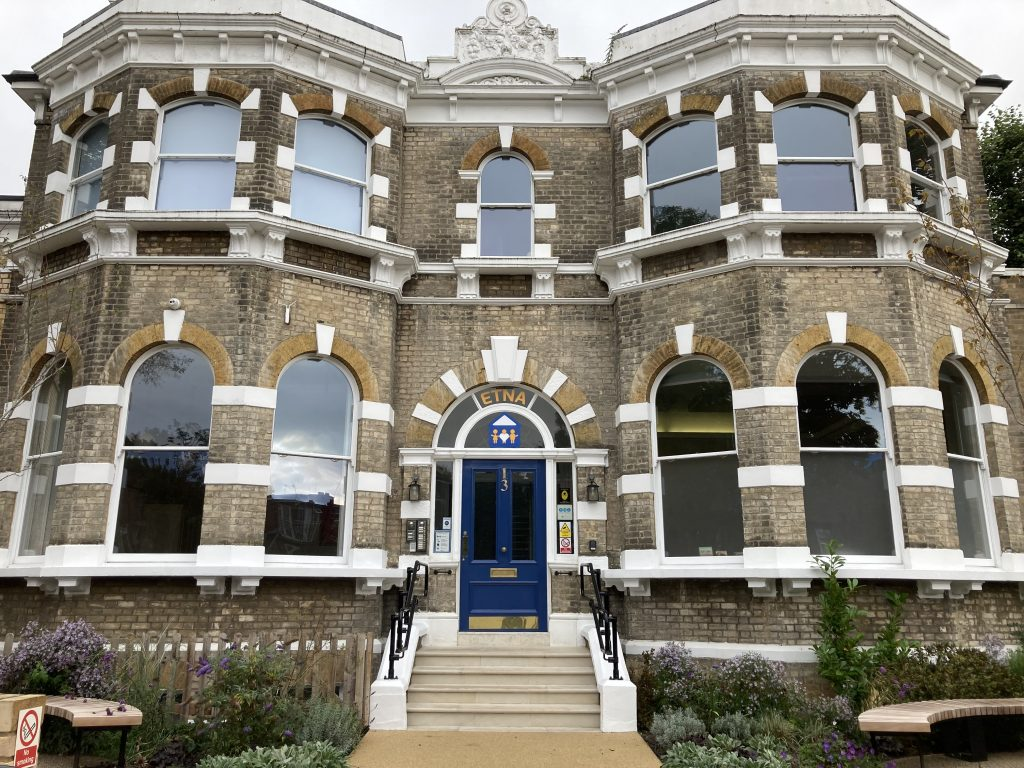The ETNA Community Centre, home of the bereavement charity