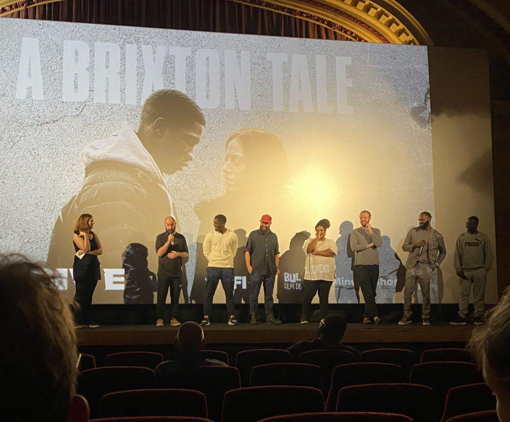 The team behind A Brixton Tale at a Ritzy cinema Q&A