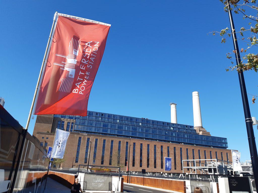 Outside of Battersea Power Station