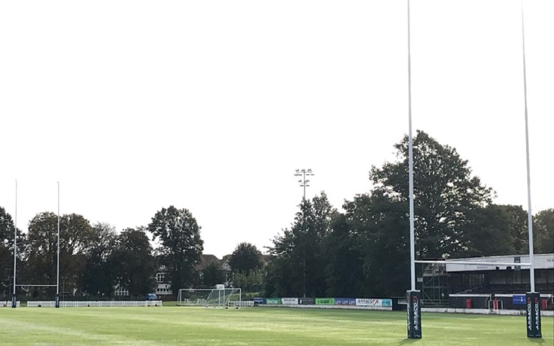 Rosslyn Park's home ground, known as The Rock
