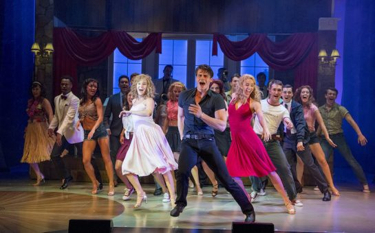 Dirty Dancing cast performing on stage