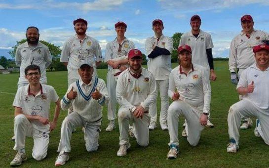 Merton Cricket Club on field