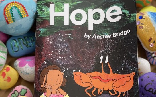 Hope, the book produced by Anstee Bridge students