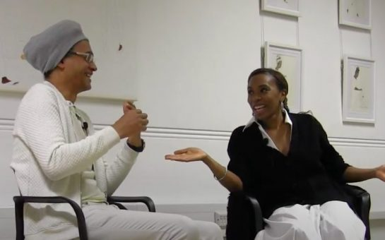 Kimathi Donkor and Lisa Anderson