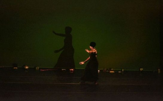 Heather Agyepong flows across the stage in The Body Remembers