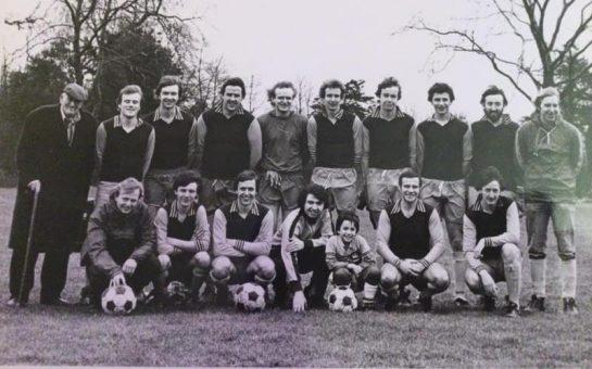 An old Barnes FC team photo