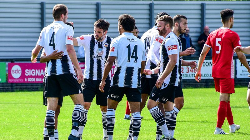 Tooting and Mitcham United FC players