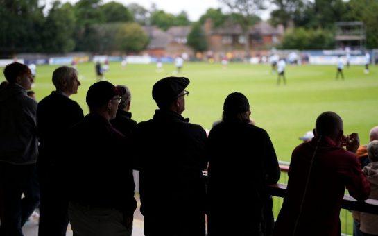 Hampton and Richmond Borough FC from the terrace